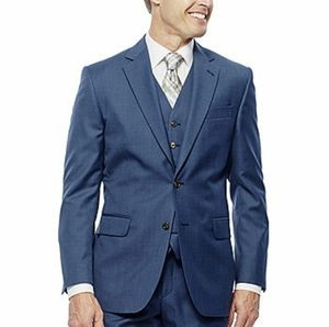 Stafford Travel Wool Blend Classic Fit Suit Jacket